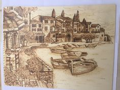 Coffee Painting, Painting On Wood, Wood Burn Designs, Wood Burning Pen, Wood Burning Patterns, Ink Pen Drawings, Pyrography, String Art, Wood Carving