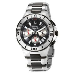 Bulova Men's 98B013 Marine Star Diver's Chronograph Watch Bulova. $175.87