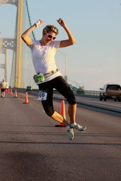 Fall Colors Mackinac Bridge Race 2012, I shall do this. 5.6 miles