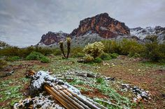 It's Snowing on the SuperstitionsDave Morgan-Creative Commons