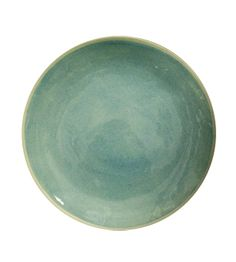 Conrans.  Beautiful turquoise dinner plate.