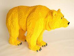 Nathan Sawaya - Sculptures en Lego - Ours