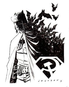 Red Son Batman - Dave Johnson