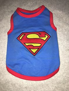 Superman Dog T Shirt Halloween Outfit | eBay