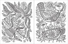 Posh Adult Coloring Book: Happy Doodles for Fun & Relaxation - Flora Chang - Thumbnail