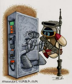 WALL-E IN CARBONITE