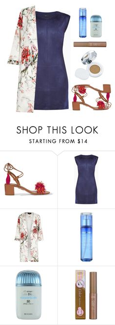 """""""Show Your Style #24"""" by ella178 ❤ liked on Polyvore featuring Aquazzura, BCBGMAXAZRIA, River Island, Laneige, Missha, Etude House, Iope and floral"""