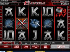 Elektra - http://freeslots77.com/elektra/ - What about gathering some fun and prizes worth 50,000 coins with actions of Elektra, the female ninja assassin? Free Elektra online slot one such game from Playtech running on 5 reels and 20 paylines. Scatter Symbol This slot machine game offers some potential wins with symbols related to...
