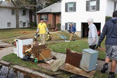 Didi @ Relief Society: Mormon Missionaries Help with Storm Cleanup Effort