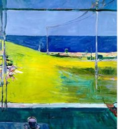 Seems like the only new composition is the composition you don't know.-) Love this 1959 Horizon Ocean View by Richard Diebenkorn, Oil on Canvas Abstract Landscape Painting Abstract Landscape Painting, Abstract Canvas, Landscape Art, Landscape Paintings, Richard Diebenkorn, Robert Motherwell, Bay Area Figurative Movement, Jasper Johns, Modern Art Paintings