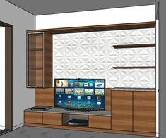 Tv Stand Furniture, Furniture Design, Interior Styling, Interior Decorating, Interior Design, 3d Design, House Design, Tv Unit, Kitchen Design
