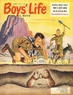 Boys' Life - my husband used to love reading this magazine.