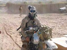 U.S. Navy seal in Afghanistan..