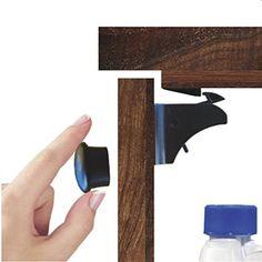 Secret Magnetic Lock Drawer Woodworking Kreg Diy Etc