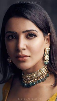 South Indian Actress Photo, Indian Actress Photos, Bollywood Actress Hot Photos, Beautiful Bollywood Actress, Beautiful Actresses, Actress Pics, Indian Actresses, Samantha In Saree, Samantha Ruth