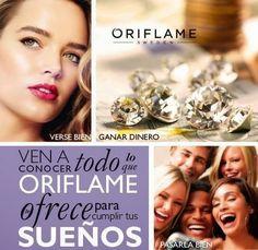 Conoce la OPORTUNIDAD DE NEGOCIO ORIFLAME y empieza a cumplir tus sueños! !! Whatsapp 5585508725 erikagrimaldo@hotmail.com
