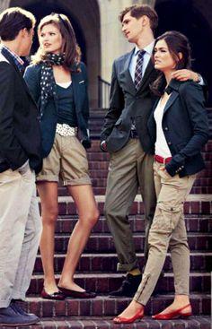 Navy polo preppy look, preppy girl, preppy style, preppy outfits, preppy college Adrette Outfits, Preppy Outfits, College Outfits, Preppy College, Preppy Fashion, Moda Preppy, Preppy Mode, Prep Style, Style Ivy League