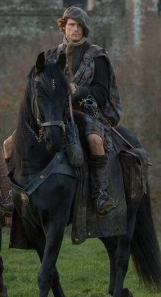 Sam Heughan as Jamie Fraser in Outlander on Starz coming August 2014.