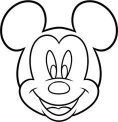How To Draw Mickey Mouse For Kids Step 7 Draw Micke