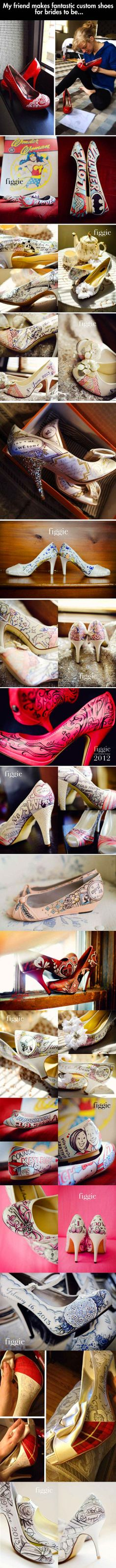 Some awesome custom shoes that are worth a second look.
