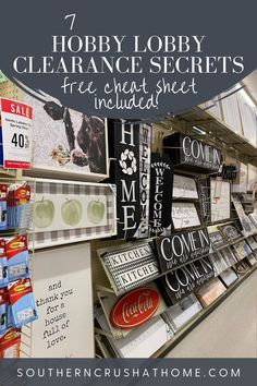 Hobby Lobby Sales, Hobby Lobby Crafts, Craft Items, Craft Stores, Discount Craft Supplies, Art Supplies, Shopping Hacks, Shopping Deals, Ways To Save