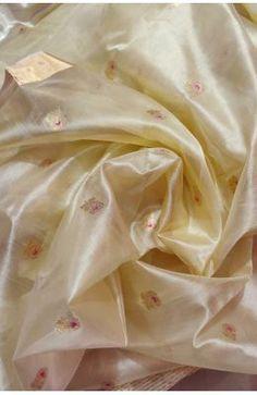 Discover thousands of images about Pastel Handloom Chanderi Ghani Meenakari Buti Pure Silk Saree