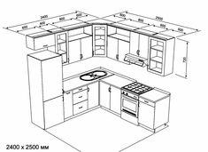 Resultado de imagen para cocinas americanas tipo l con puerta acceso a baño Modern Kitchen Cabinets, Kitchen Dinning, Kitchen Interior, Kitchen Decor, Kitchen Design, Mini Kitchen, Kitchen Sets, Kitchen Storage, Kitchen Measurements