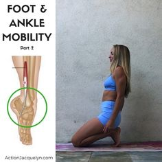 "3,530 Likes, 39 Comments - Jacquelyn || @getstretchy (@actionjacquelyn) on Instagram: ""I've been covering foot and ankle mobility this week for your @getstretchy tutorials! And you all…"""