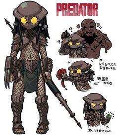 Movies into manga - predator