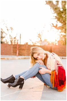 Quirky and Colorful Senior Portrait Session Inspiration - Downtown Annapolis, Maryland - Brooke Michelle Photography