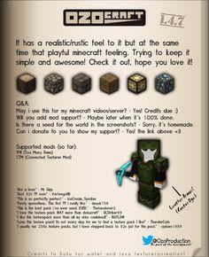 OzoCraft Texture Pack 1.6.2 Minecraft 1.6.2 - http://www.minecraftjunky.com/ozocraft-texture-pack-1-6-2-minecraft-1-6-2/