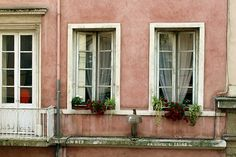 Lyon, France, Window, Architecture