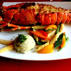Lobster Thermidor from Martin's Corner, Goa  Foodlets.in - visual food guide