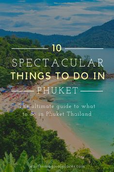 All the top things to do in Phuket Thailand! Think of this as your ultimate Phuket travel guide to the best beach, nightlife, resorts and so much more! | Things to do bucket lists | What to do in Phuket! #travel #thailand #phuket #guide Phuket Travel, Thailand Travel Guide, Visit Thailand, Phuket Thailand, Asia Travel, Luang Prabang, Laos, Oregon, Architecture Design