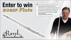 Win a new flute worth$299!Expires:  February 28, 2015 | Eligibility:  United States | 13+ Click to enter!