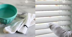 2 astuces on ne peut plus efficaces pour laver ses stores