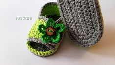 Hut's Bloom baby sandal by Hut's Crochet on Ravelry