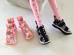 How to make Monster High Doll Shoes!