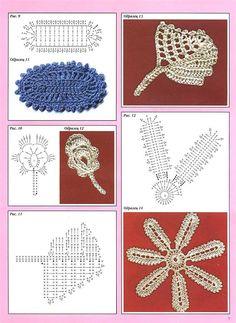 Inspirações de Croche com Any Lucy: Pontos em Croche