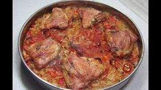 Reteta Varza cu pui la cuptor - dieta Dukan Pork, Meat, Dukan Diet, Kale Stir Fry, Pork Chops