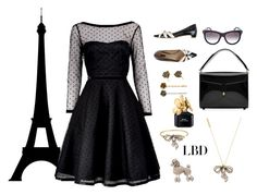 """""""Little Black Dress-Marc Jacobs"""" by honkytonkdancer ❤ liked on Polyvore featuring Marc by Marc Jacobs, Marc Jacobs, LittleBlackDress, polyvoreeditorial, polyvorecontest, polyvorefashion and marcjacobsset"""
