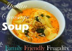 Italian Sausage Soup: