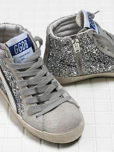 SLIDE - 30K308-C1SN  - Patrizia Pepe Golden Goose Kids Shoes Patrizia Pepe, Toddler Shoes, Golden Goose, Cute Babies, High Top Sneakers, Sandals, Boots, Kids, Fashion