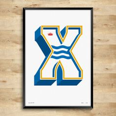Xerez CD posters Limited Edition Typography Print by DINKIT