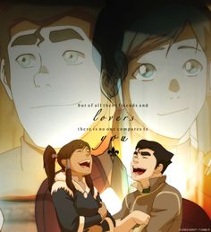 Legend of Korra Bolin best couple ever
