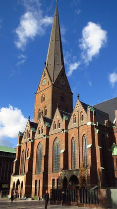 Peter's Church of Hamburg Pope Leo X, Hamburg Germany, Lutheran, Place Of Worship, Cathedral, Hilarious, Tower, World, Building