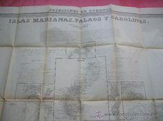 Mapas contemporáneos: ISLAS MARIANAS - 1852 - Atlas de España y sus Posesiones de ultramar - Foto 1 - 24832818