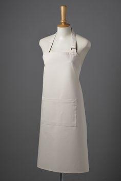 Hudson Bib Apron, Aprons, White Dress, Restaurant, Dresses, Design, Fashion, White Dress Outfit, Gowns