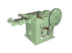 Function of High Speed Automatic Wire Nail Making Machine Manufacturers is the cut the coil wire into nails and makes complete Nails with high speed In India.
