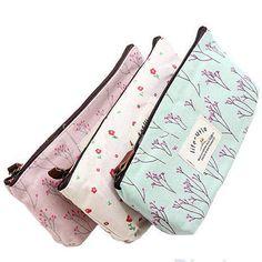 Make-up Bag / Pencil Case / Wallet / Purse by SilverBirdTreasures